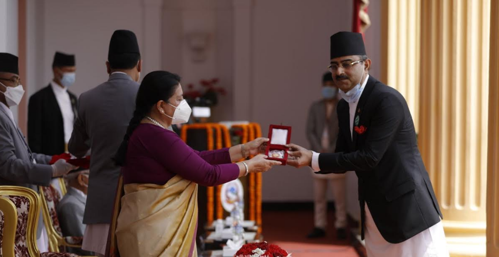 Managing Director of KL Dugad Group Bikas Dugad honored with 'Prabal Jana Sewa Shree'