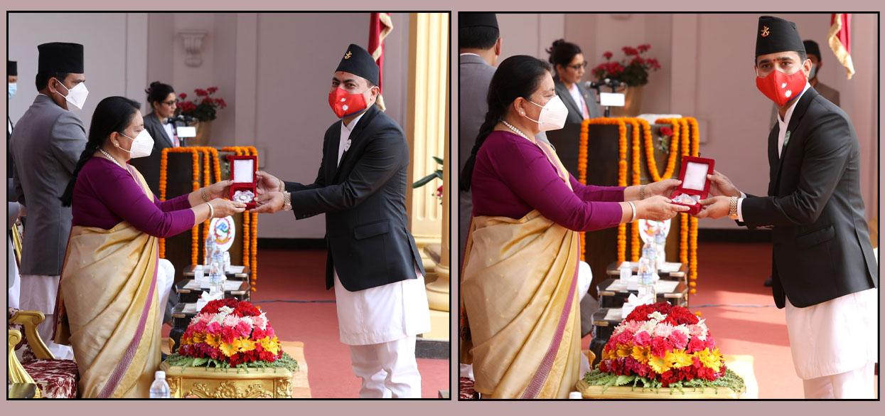 NIC Asia Bank's Neupane awarded 'Prabal Jana Sewa Shree (IV)'
