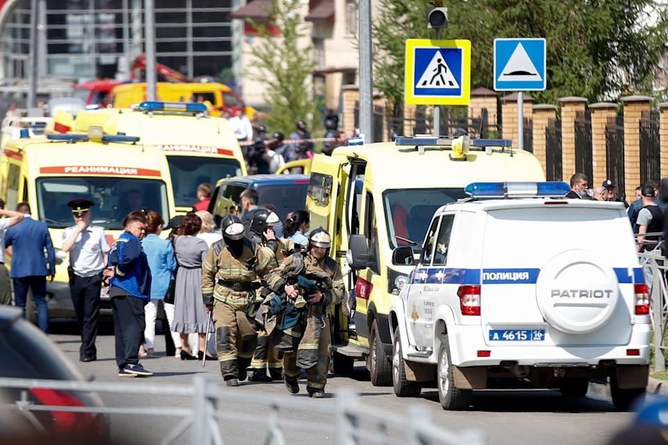 Russia school shooting: Children and teacher killed in Kazan