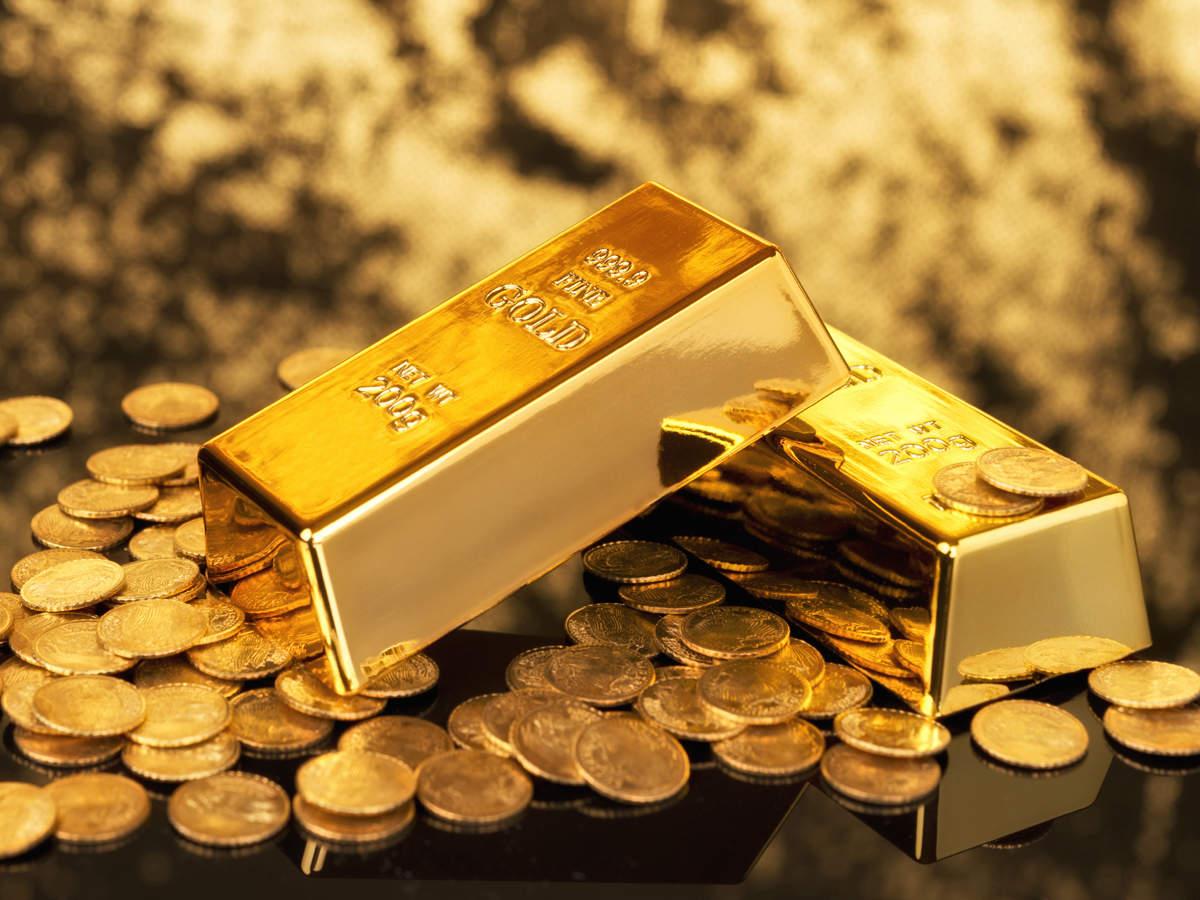 Gold price fell