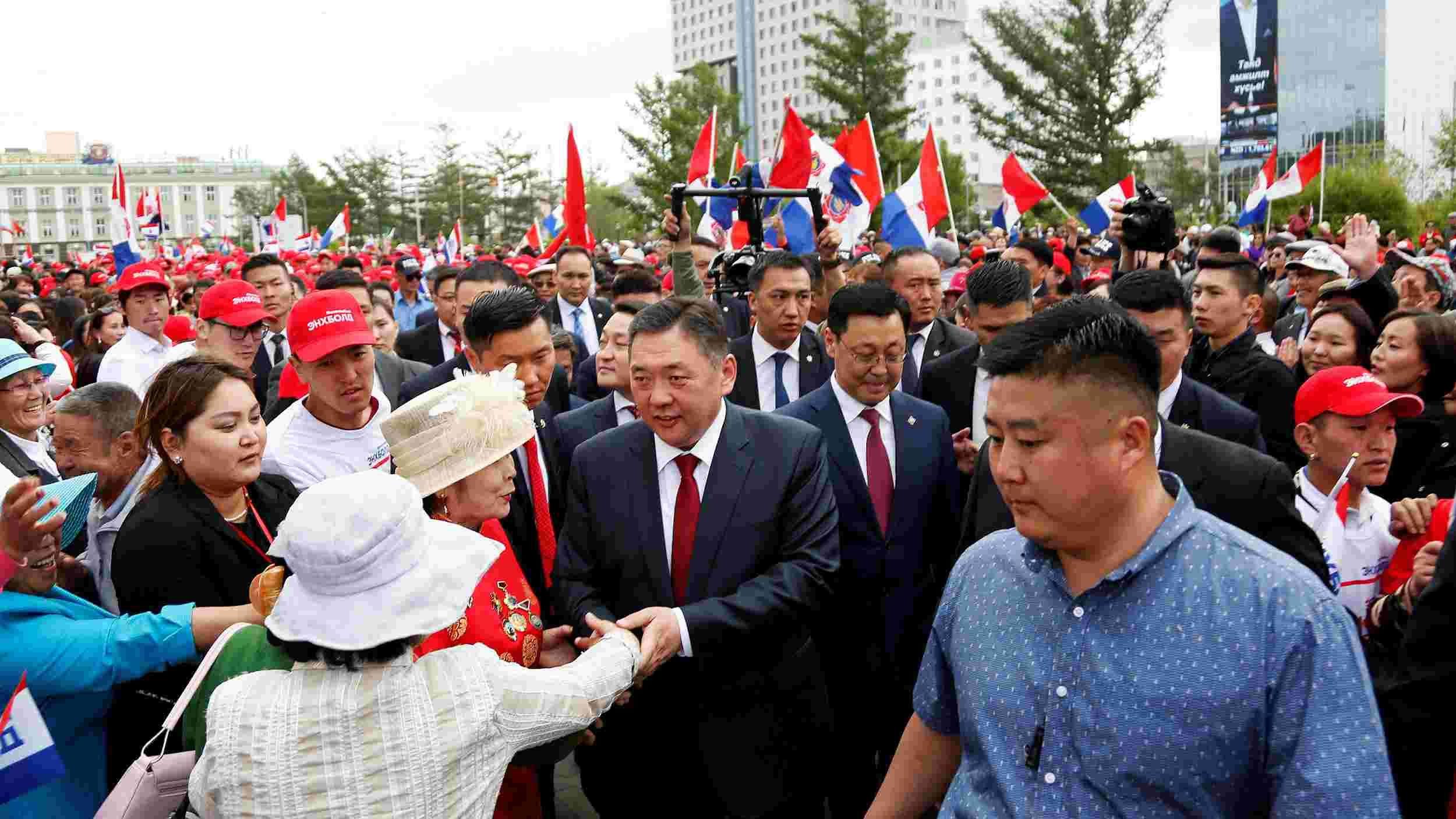 Mongolia presidential election begins