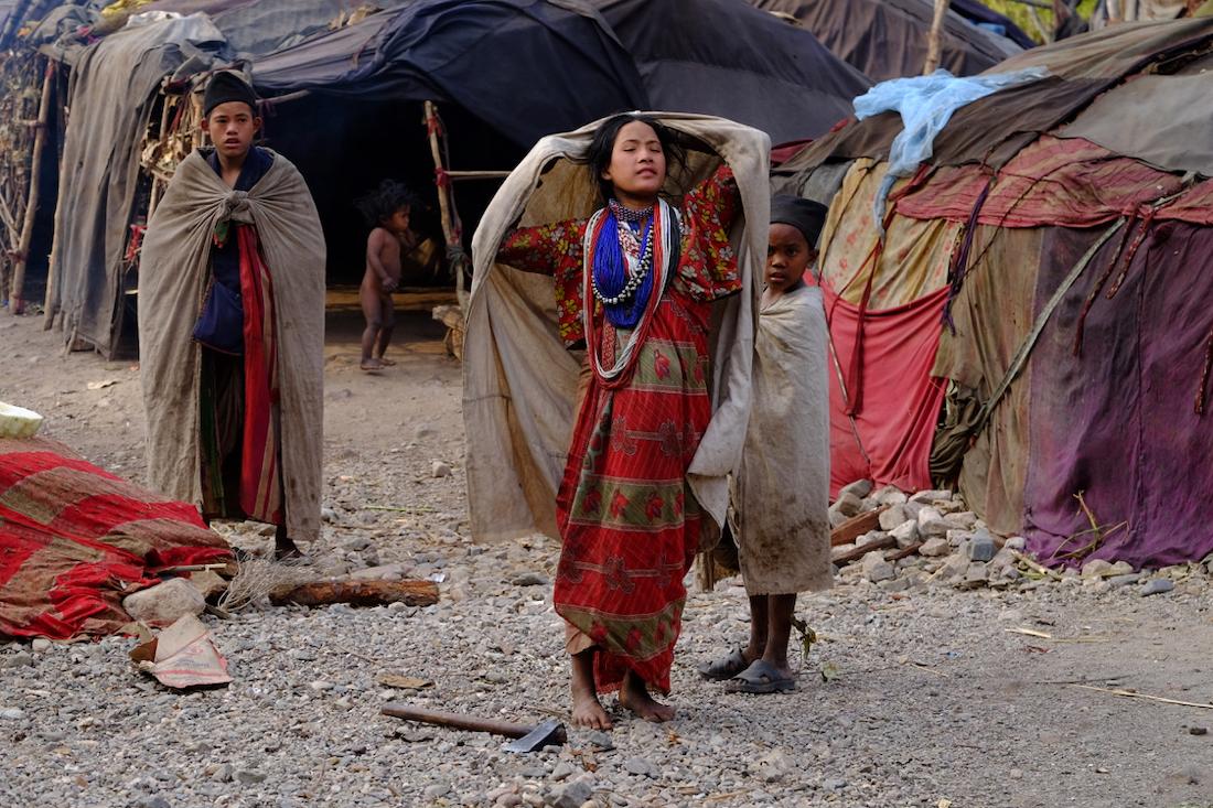 Nomadic Rautes shift to Salyan from Surkhet