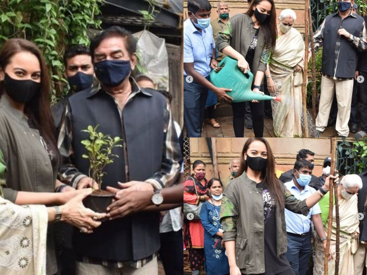 Sonakshi's request to plant a tree