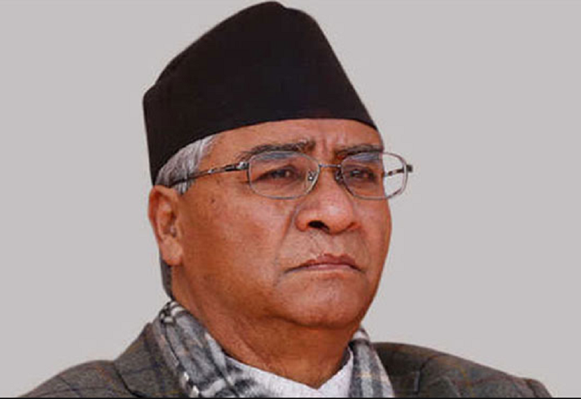Chairman Deuba expresses grief over the demise of former Minister of State Bista