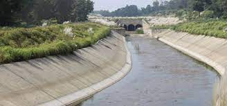 Canal of Jhyapre rivulet irrigation project constructed