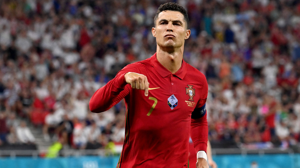 Ronaldo equaled the record for most goals scored
