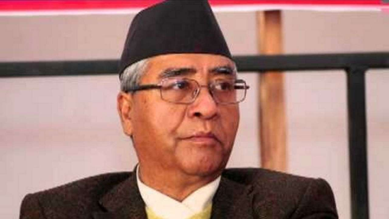 NC President Deuba expresses grief over Thapa's demise