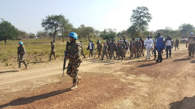 Letter of appreciation from the UN Secretary General to the Army Officer