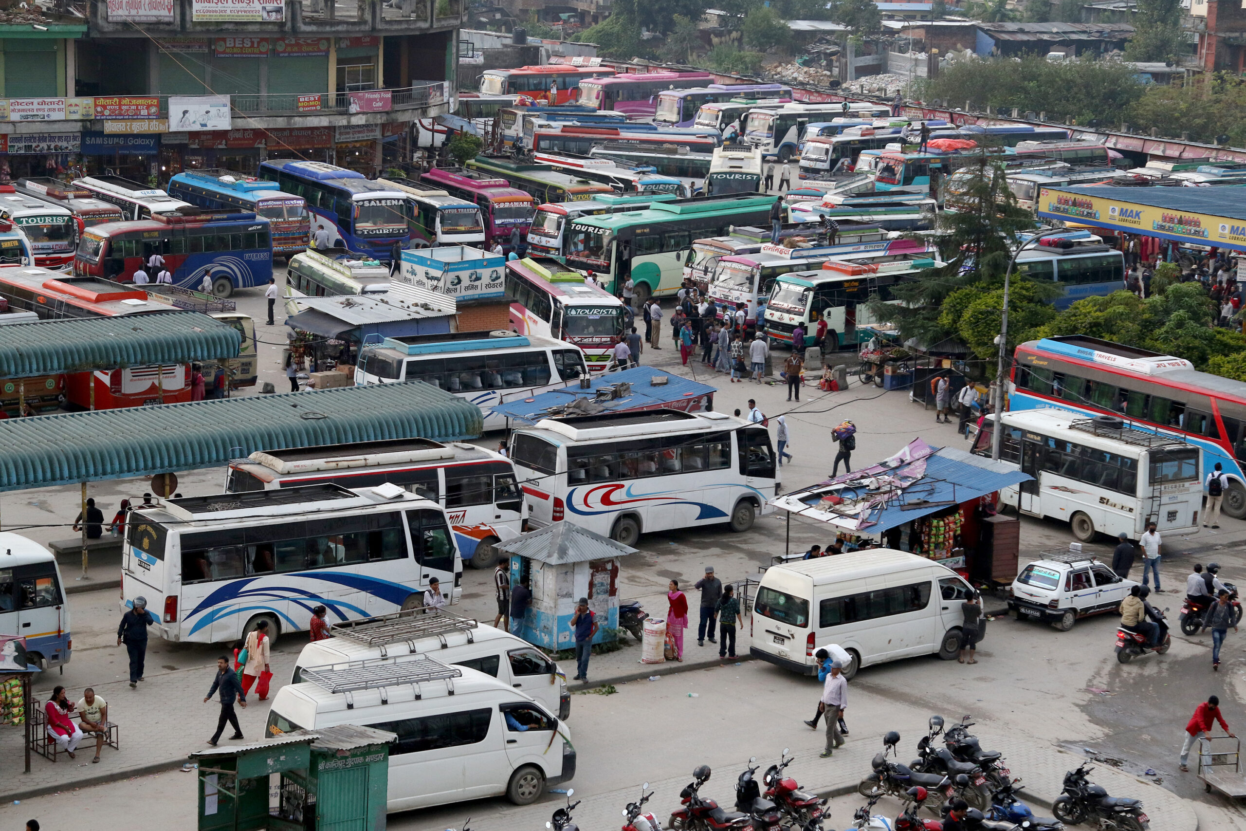 Transport entrepreneurs wage protest calling for hike in transport fare