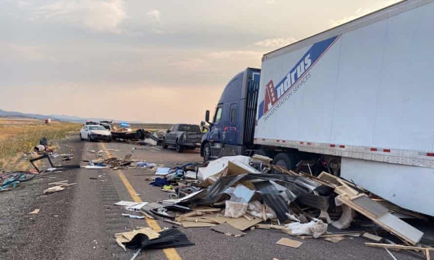 At least 7 killed in crashes in U.S. state of Utah