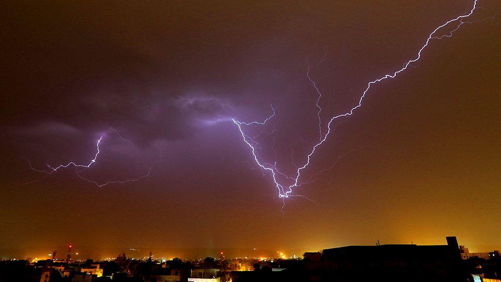 Lightning strikes kill 6 in India's Madhya Pradesh