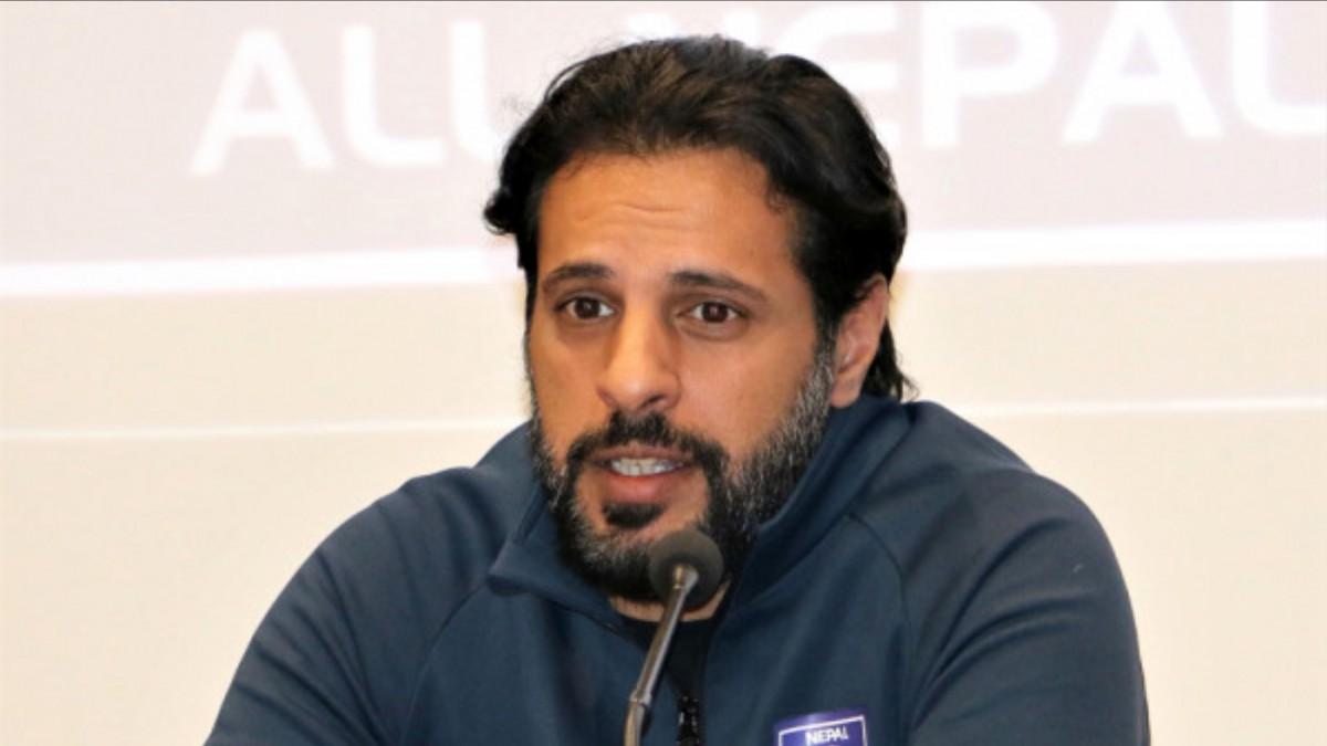 Almutairi, the head coach of the national football team, has announced his resignation