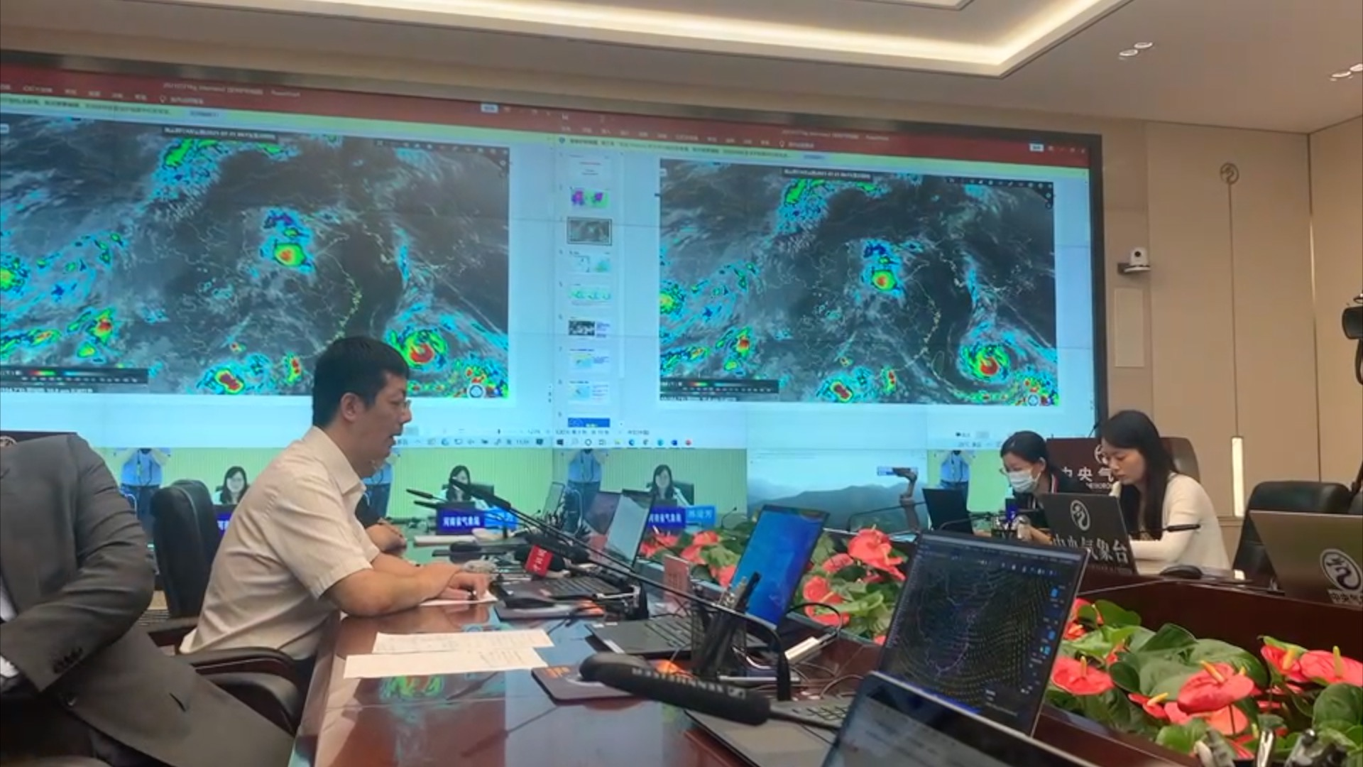 China activates second-highest alert for Typhoon In-Fa