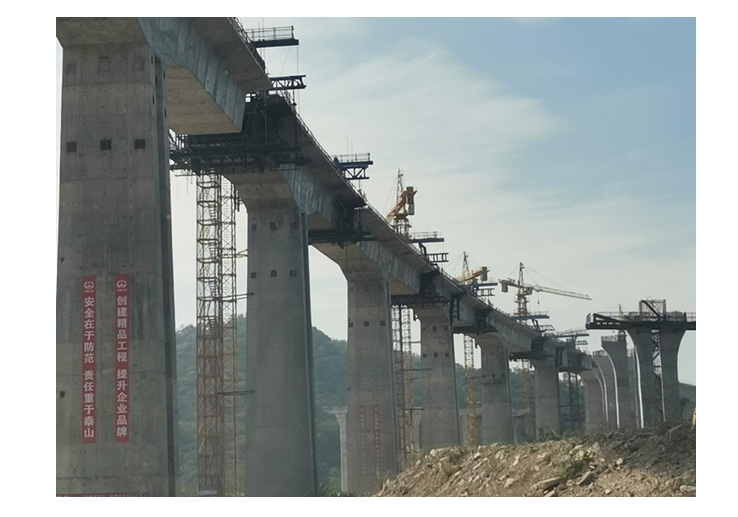 5 workers missing in south China following collapse of bridge under construction