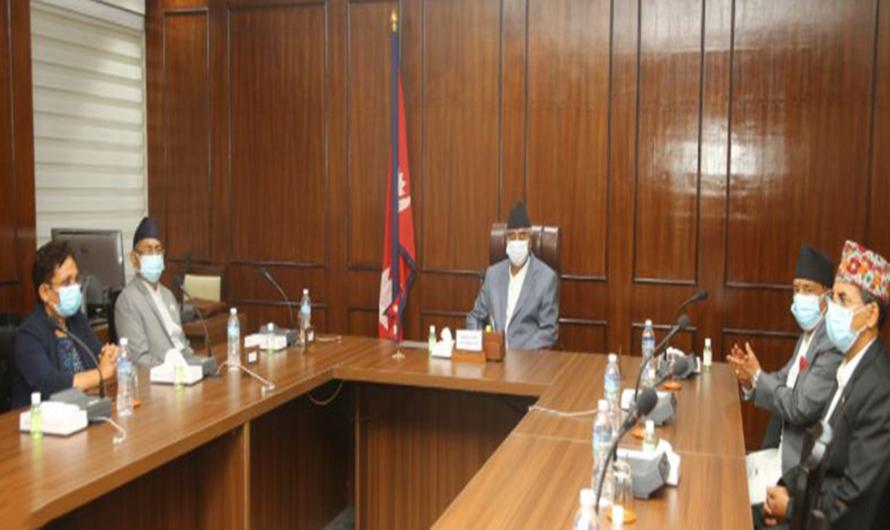 Cabinet meeting is being held