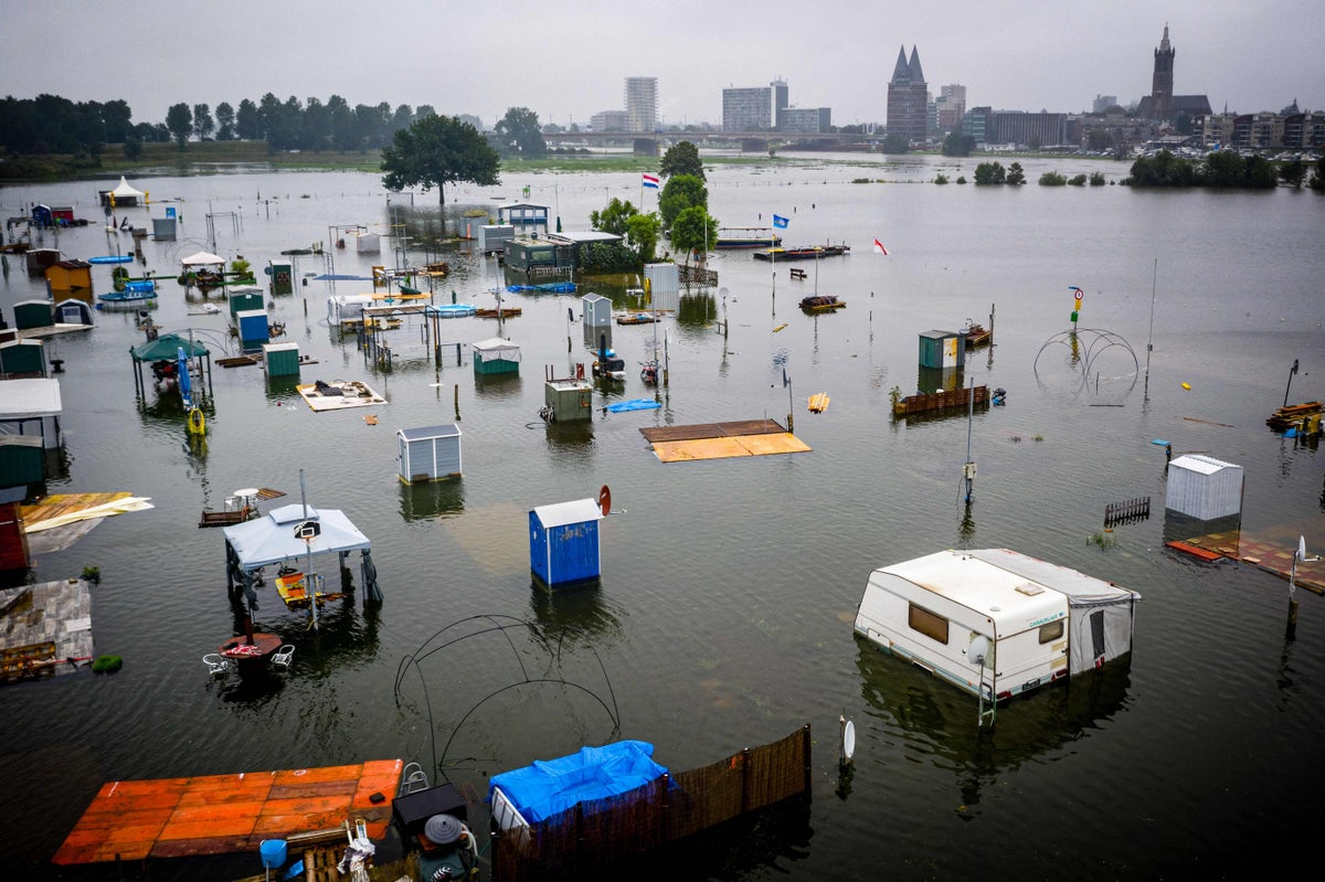 German floods death toll rose to 133, 153 in Europe