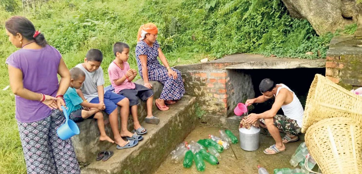 Drinking water shortage in Bagarphant for 15 days