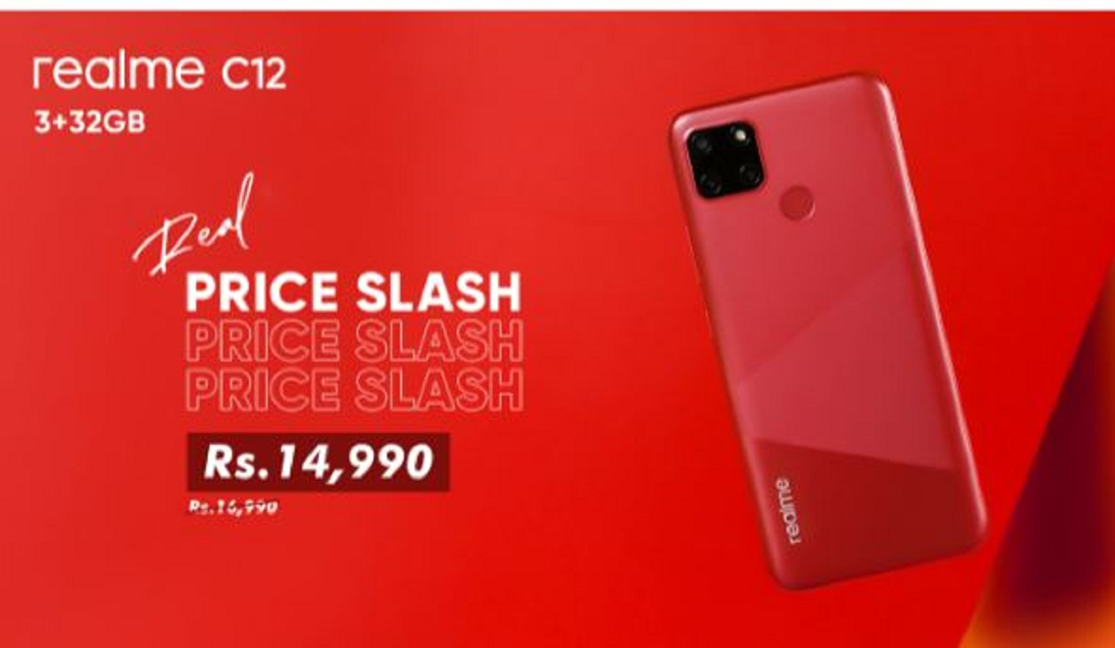 Realme 7 and C12 prices fell