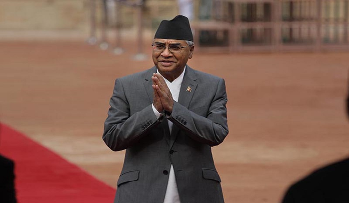 Deuba appointed as Prime Minister and will be sworn in at 6 p.m.