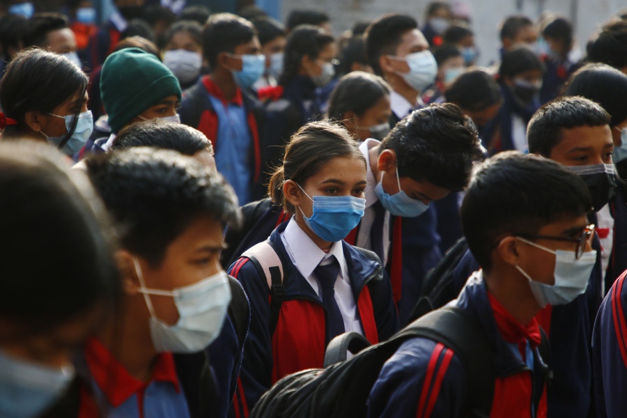 Kavrepalanchok reopens public schools in defiance of govt's direction