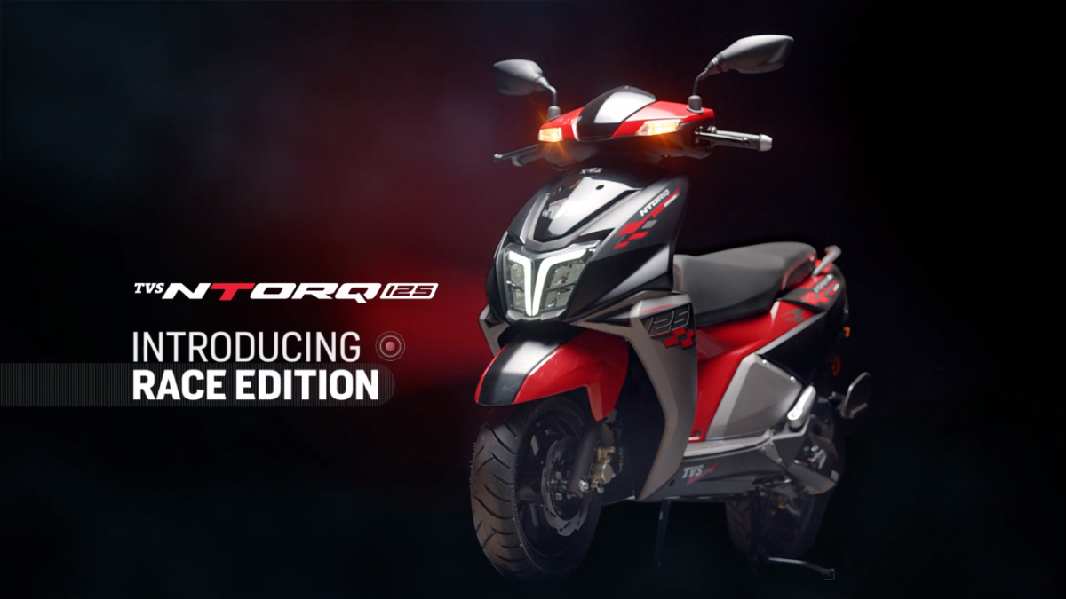 TVS NTORQ 125 Race Edition Better Than FI' being released on Sunday