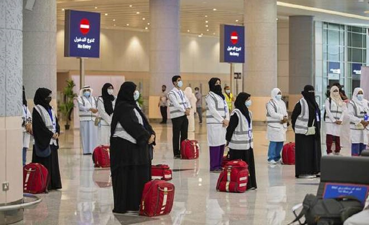 People who have had a covid vaccination can travel to Saudi Arabia
