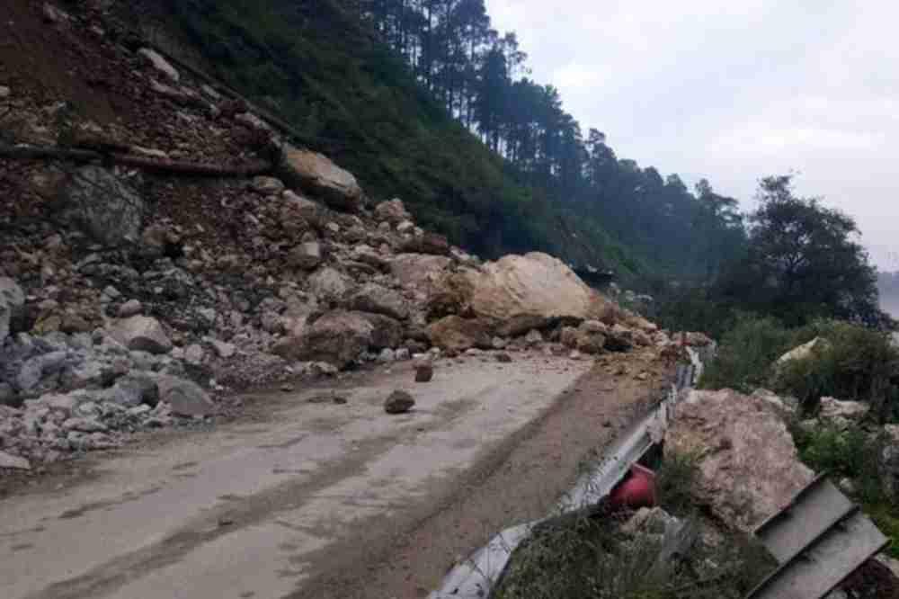 2 killed, 5 buried after landslide in India's Uttarakhand