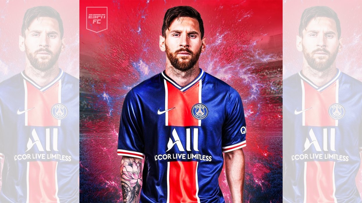 Messi joining PSG!