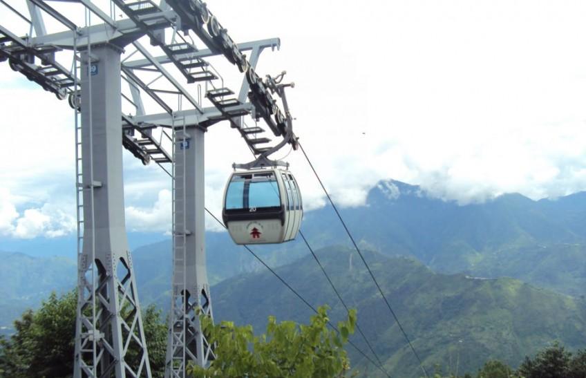 Manakamana Cable Car came into operation