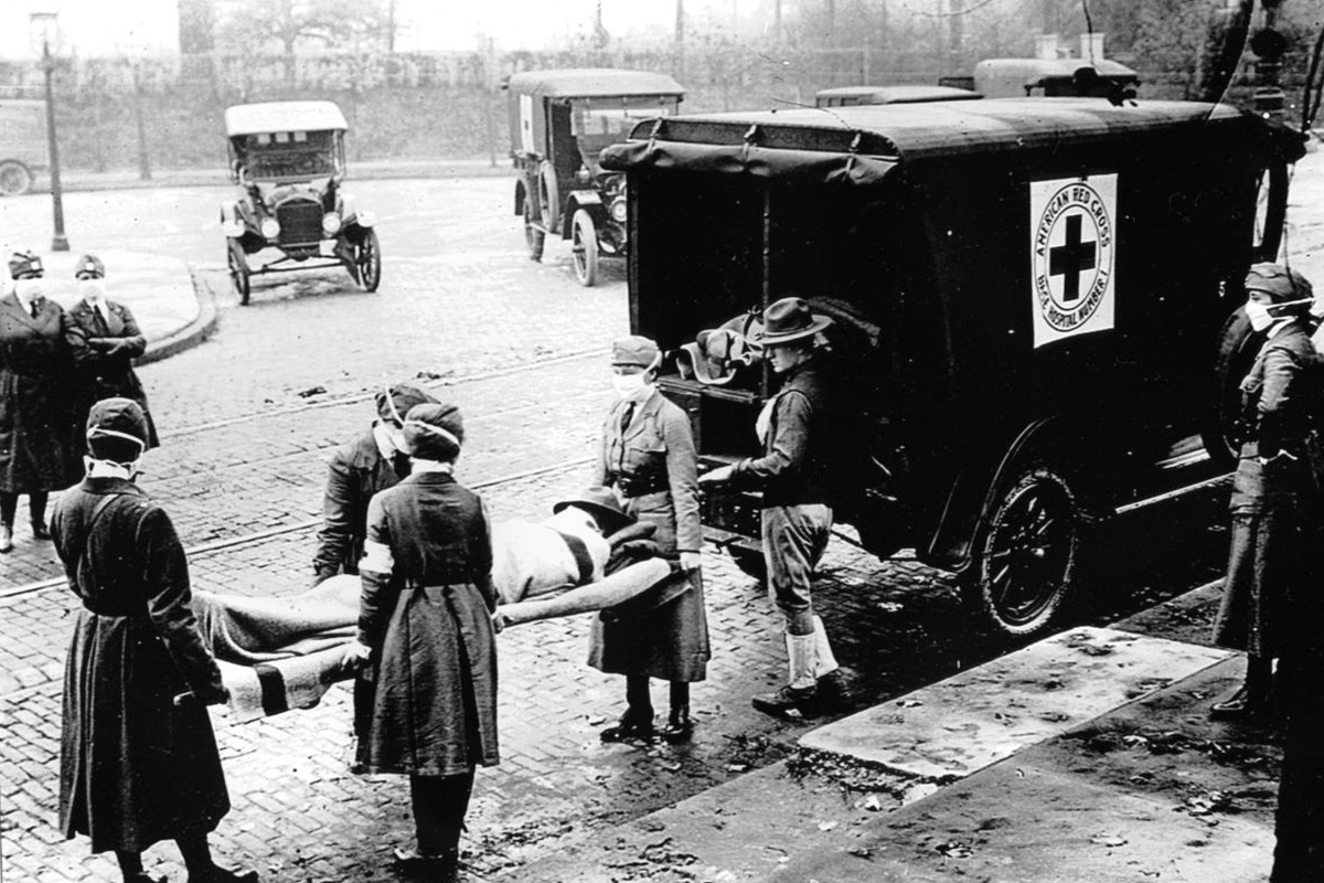 How the 1918 flu and COVID-19 pandemics compare