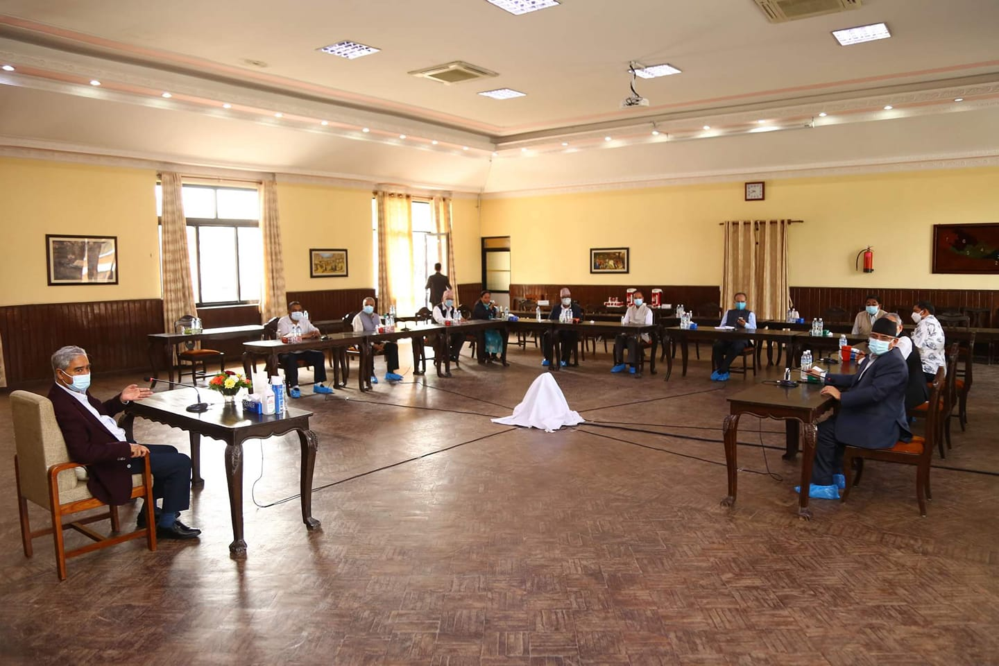 Meeting of the ruling coalition: Preparations for the expansion of the Council of Ministers