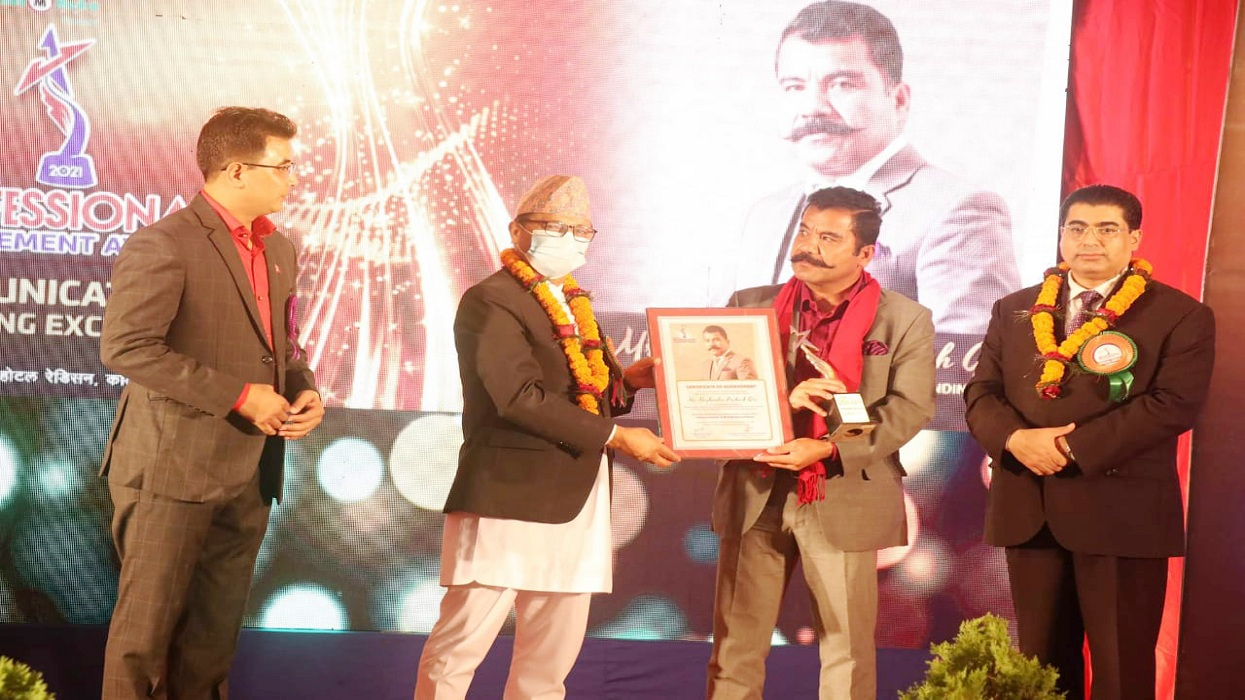 Corporate branding icon Giri honored