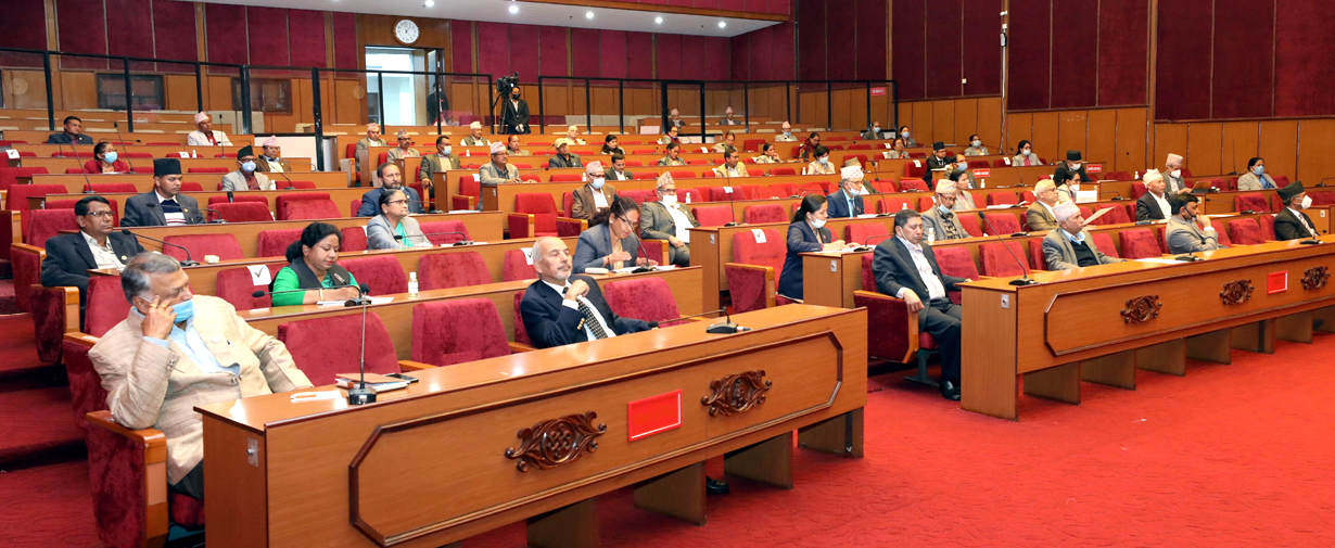 The budget presented in National Assembly, expenses will get legitimacy of Sept. 16