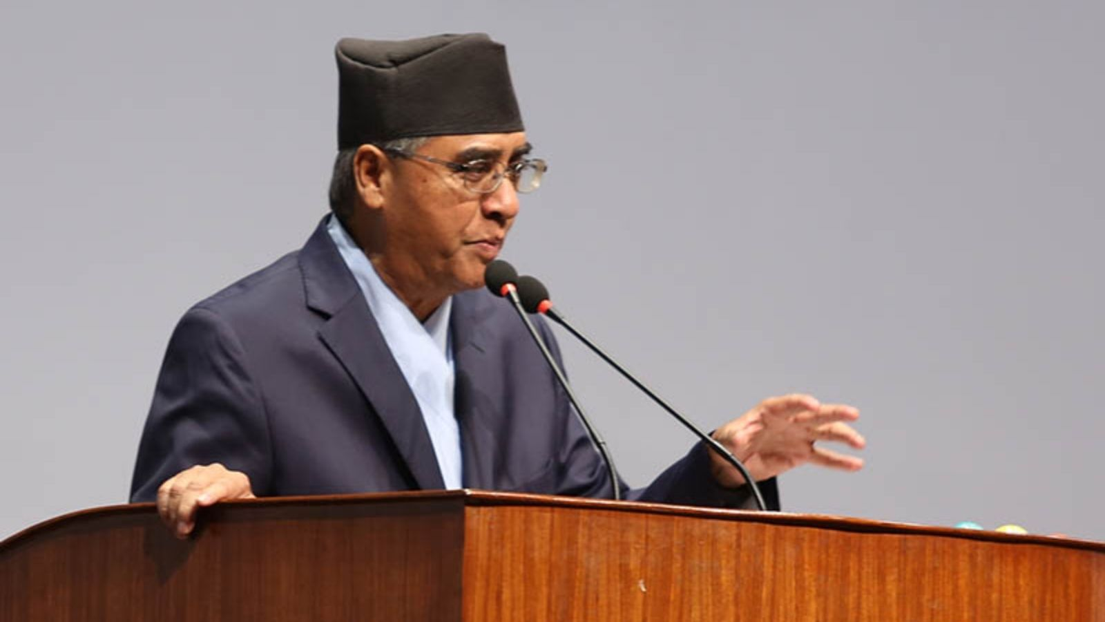 PM Deuba stresses on rooting out human trafficking