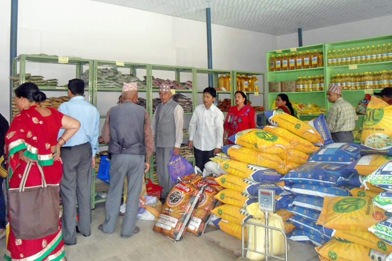 Fair price shops opened, sale outlets set up at 43 places in 39 districts