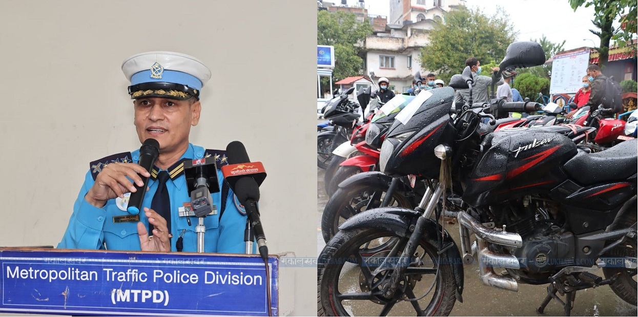 24 missing motorcycles handed over to concerned people, 3 arrested