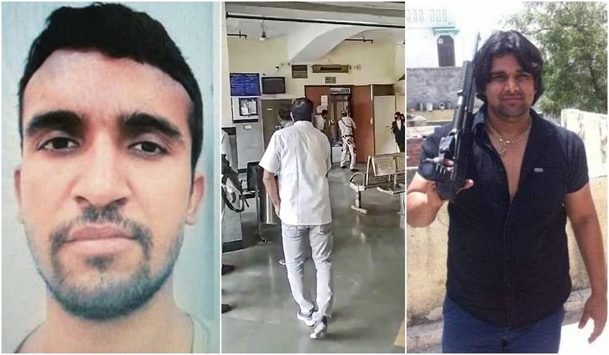 Jitender Maan Gogi: India gangster shot dead in Delhi court