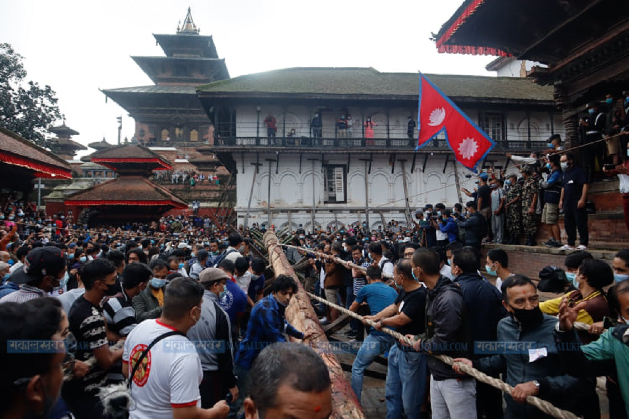 Indra Jatra begins [Photos]