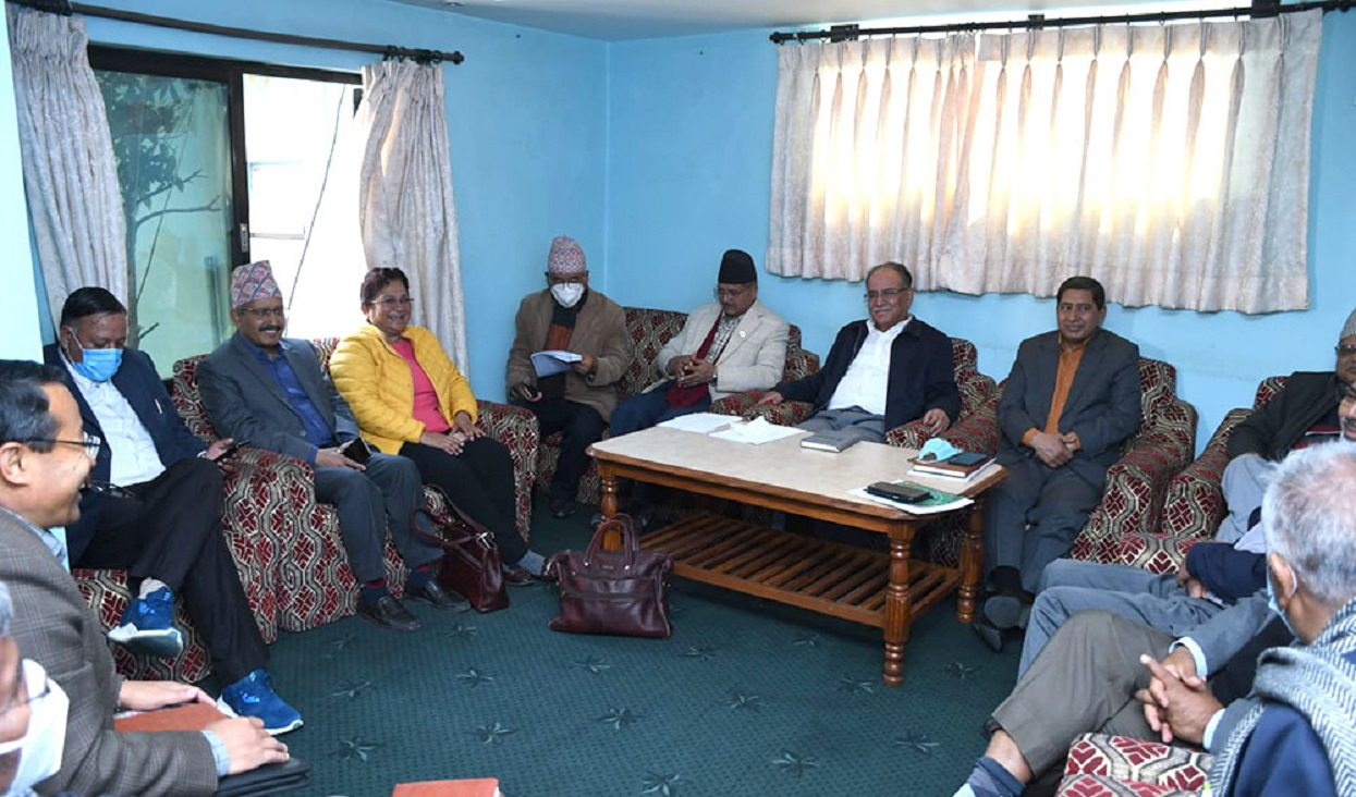 Prachanda called a standing committee to prepare the name of the minister