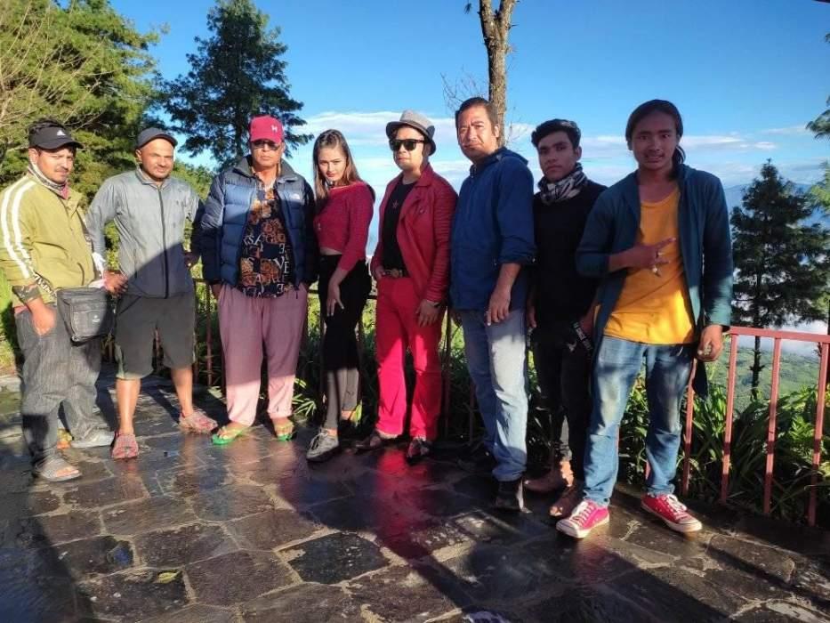 The 'Yo Mero Dil' team returned to Kathmandu