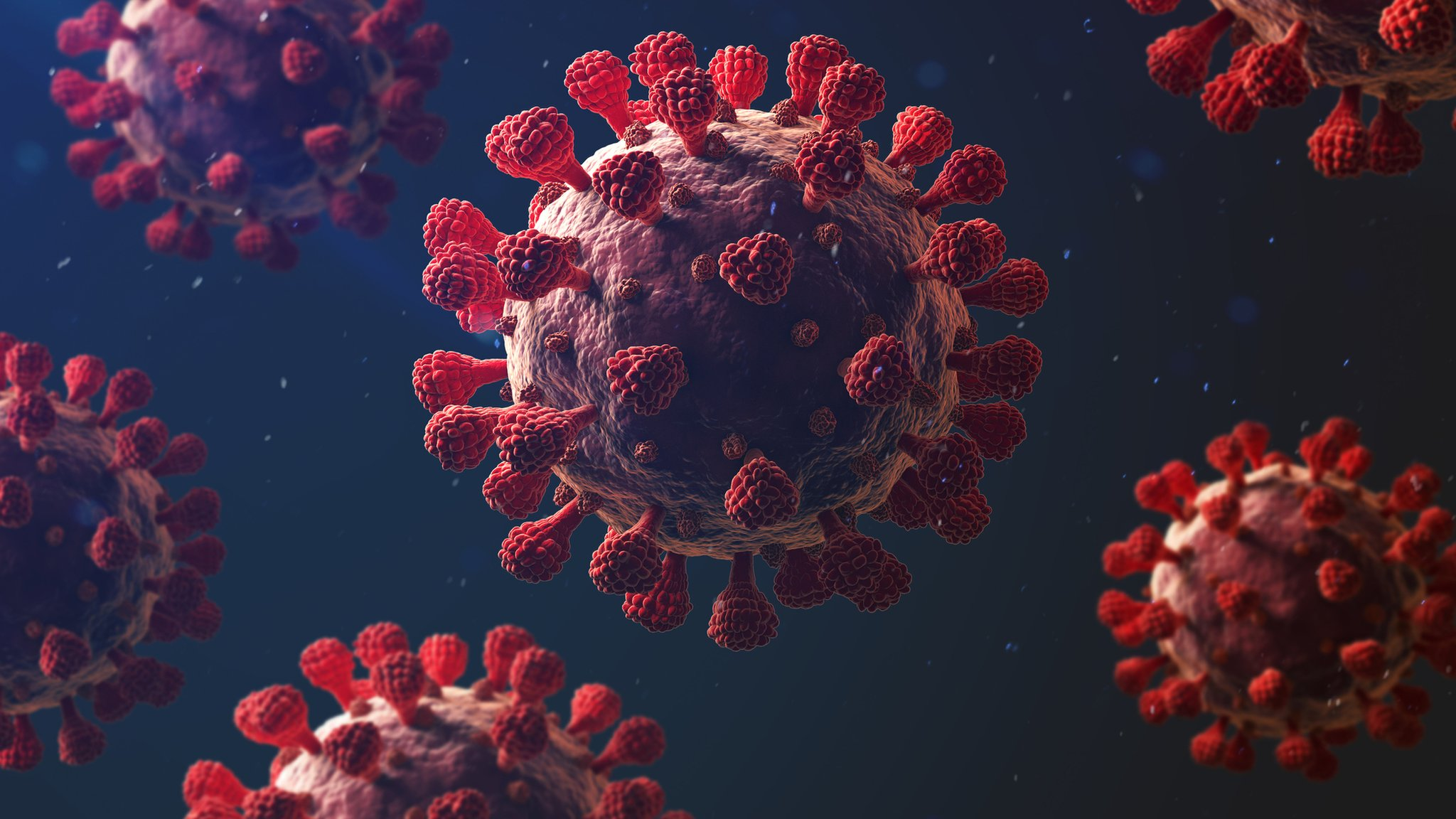 147 people were infected with COVID-19, one died