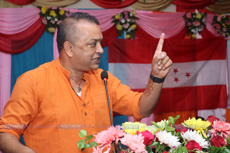 I don't know when the 14th general convention will be held: Gagan Thapa