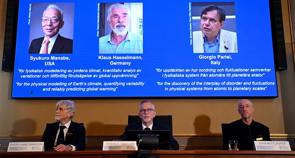 3 scientists share 2021 Nobel Prize in Physics » Meroshare