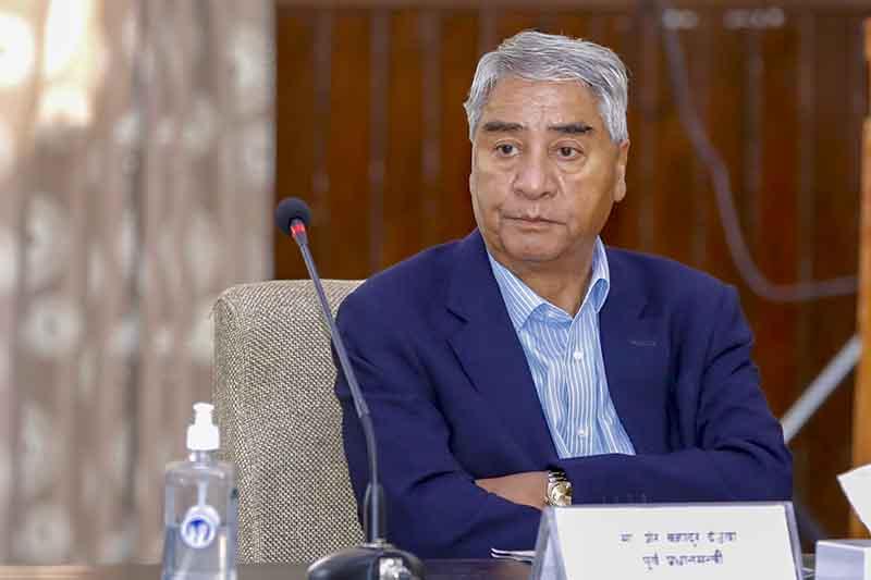 PM Deuba expresses sorrow over demise of Prof Shrestha