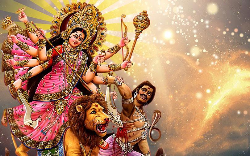 Today Maha Ashtami: Durga Bhawani is being worshiped