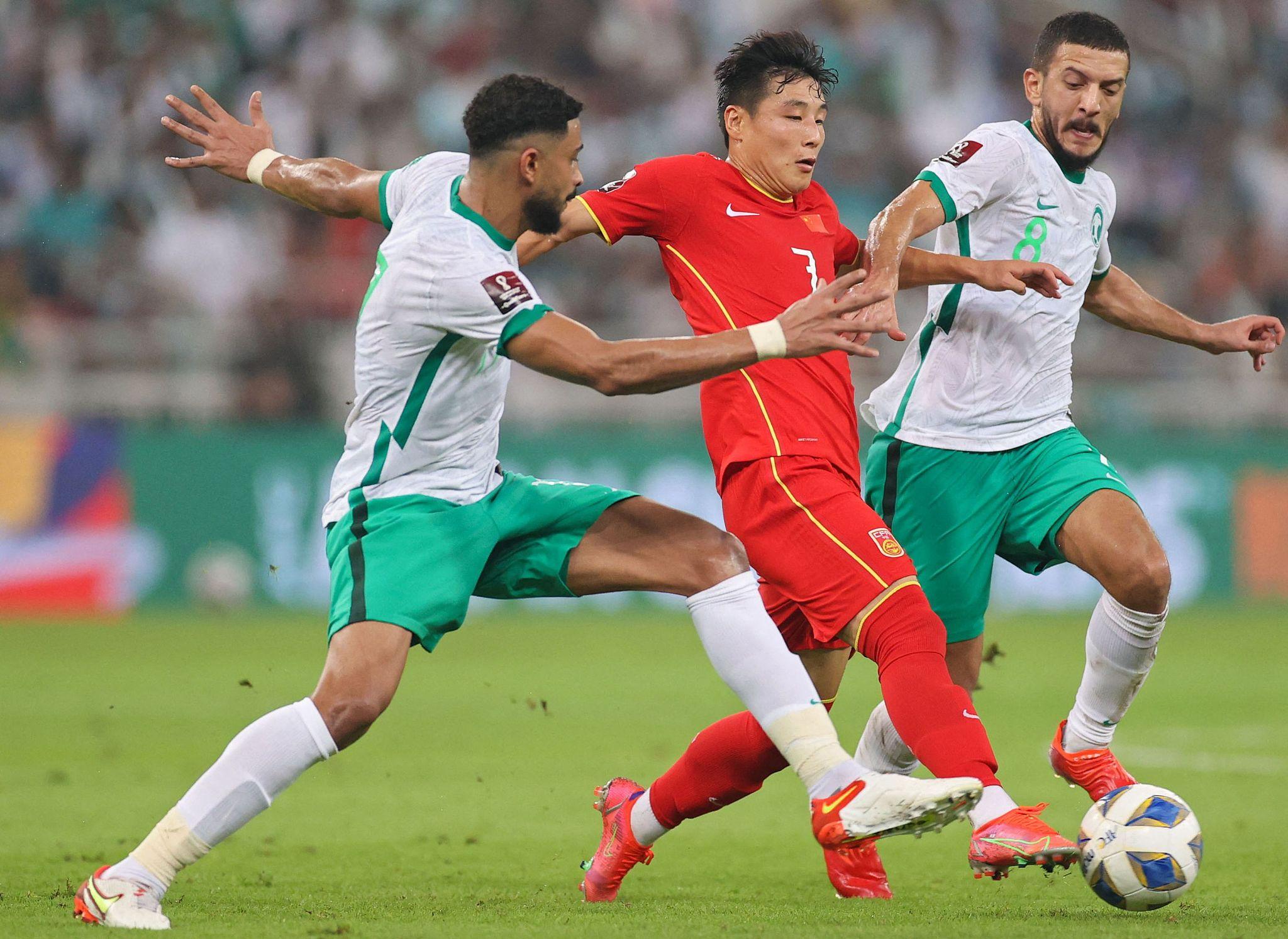 Saudi Arabia defeat China 3-2 in Qatar 2022 World Cup qualifiers