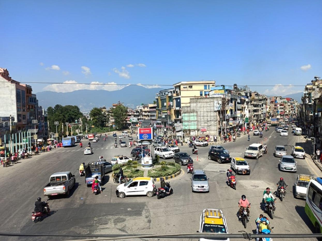 Bustle increased in Kathmandu