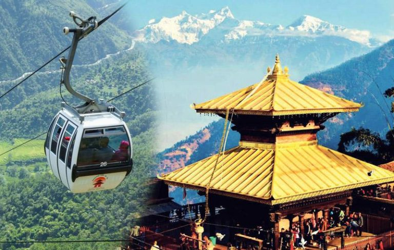 Halted Manakamana Cable Car resumes today