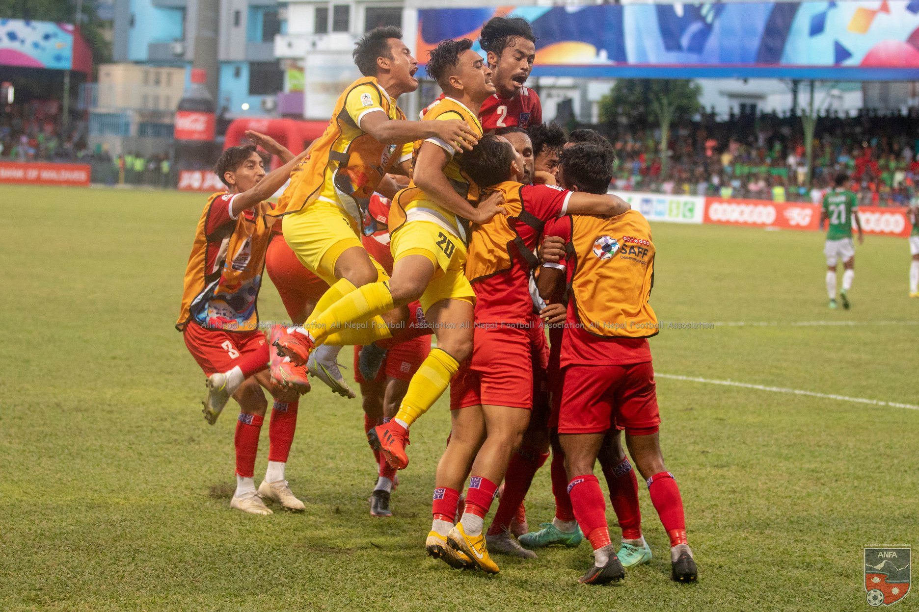 SAFF Championship: Competition between Nepal and India for the title
