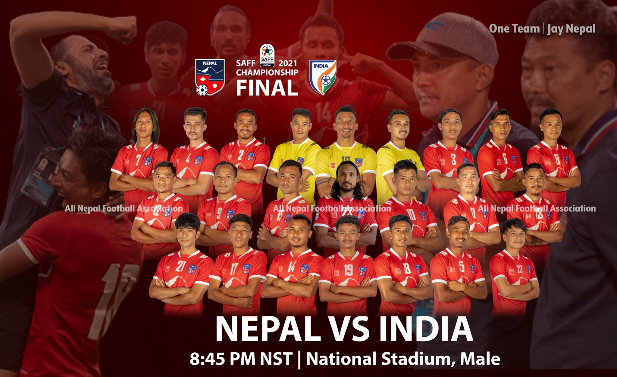 SAFF Championship: Nepal and India playing for the title today